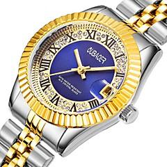 preiswerte Damenuhren-Damen Sportuhr Armbanduhr Japanisch Quartz 30 m Wasserdicht Kalender Armbanduhren für den Alltag Legierung Band Analog Luxus Freizeit Silber / Gold - Schwarz Grün Blau