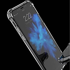 Недорогие Кейсы для iPhone 7 Plus-Кейс для Назначение Apple iPhone XR / iPhone XS Max Защита от удара / Прозрачный Кейс на заднюю панель Однотонный Мягкий Акрил для iPhone XS / iPhone XR / iPhone XS Max
