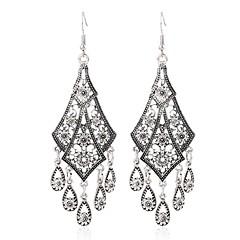 preiswerte Ohrringe-Damen Tropfen-Ohrringe - Retro, Süß Silber Für Alltag Festival