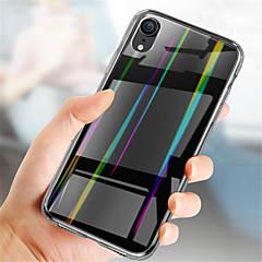 Недорогие Кейсы для iPhone-Кейс для Назначение Apple iPhone XR / iPhone XS Max Покрытие Кейс на заднюю панель Однотонный Твердый Закаленное стекло для iPhone XS / iPhone XR / iPhone XS Max