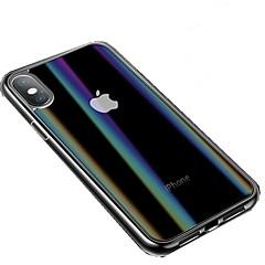 Недорогие Кейсы для iPhone 6 Plus-Кейс для Назначение Apple iPhone XS / iPhone XR С узором Чехол Однотонный Твердый Закаленное стекло для iPhone XS / iPhone XR / iPhone XS Max