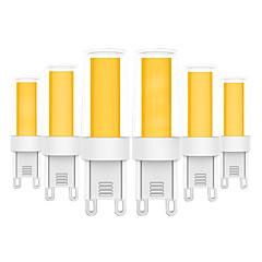 お買い得  LED 電球-YWXLIGHT® 6本 5 W 400-500 lm G9 LED2本ピン電球 T 1 LEDビーズ COB 温白色 / クールホワイト 220-240 V