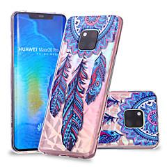 Недорогие Чехлы и кейсы для Huawei Mate-Кейс для Назначение Huawei Huawei Mate 20 Lite / Huawei Mate 20 Pro С узором Кейс на заднюю панель Ловец снов Мягкий ТПУ для Huawei Nova 3i / P smart / Huawei P Smart Plus