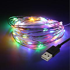 preiswerte LED Lichtstreifen-brelong 100led im freien wasserdichte usb kupfer licht 1 stück