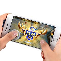 お買い得  ビデオゲーム用アクセサリー-Q8 ワイヤレス ゲームコントローラ / コントローラグリップ / ゲームトリガー 用途 Android / iOS 、 パータブル / クリエイティブ / 新デザイン ゲームコントローラ / コントローラグリップ / ゲームトリガー PVC 1 pcs 単位