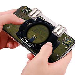 お買い得  ビデオゲーム用アクセサリー-NUANI-N10 ゲームコントローラーThumb Stick Grips / コントローラグリップ / ゲームトリガー 用途 Android / iOS 、 パータブル / クリエイティブ / 新デザイン ゲームコントローラーThumb Stick Grips / コントローラグリップ / ゲームトリガー ABS 1 pcs 単位