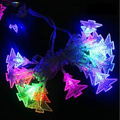 preiswerte LED Lichtstreifen-BRELONG® 4m Leuchtgirlanden 28 LEDs RGB Wasserfest / Party / Dekorativ 220-240 V 1pc