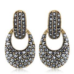 preiswerte Ohrringe-Damen Vintage Stil Tropfen-Ohrringe - Geometrisch, Europäisch, Modisch Silber / Bronze Für Normal Alltag