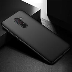 Недорогие Чехлы и кейсы для Xiaomi-Кейс для Назначение Xiaomi Xiaomi Pocophone F1 / Mi 6X Матовое Кейс на заднюю панель Однотонный Твердый ПК для Xiaomi Pocophone F1 / Xiaomi Mi 6X(Mi A2)