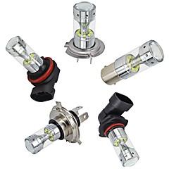 Недорогие Автомобильные фары-OTOLAMPARA 2pcs 3156 / 3157 / BAY15D (1157) Автомобиль Лампы 60 W Высокомощный LED 3000 lm 12 Светодиодная лампа Налобный фонарь Назначение Toyota / Honda / Ford Civic / Focus / Polo Все года