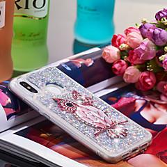 Недорогие Чехлы и кейсы для Xiaomi-Кейс для Назначение Xiaomi Mi 8 Защита от удара / Сияние и блеск Кейс на заднюю панель Сова / Сияние и блеск Мягкий ТПУ для Xiaomi Mi 8