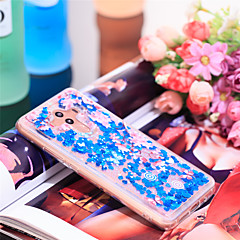 Недорогие Чехлы и кейсы для Huawei Mate-Кейс для Назначение Huawei Mate 10 pro Защита от удара / Сияние и блеск Кейс на заднюю панель Сияние и блеск / Цветы Мягкий ТПУ для Mate 10 pro