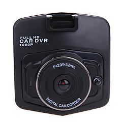 billige Autotilbehør-M001 HD 1280 x 720 / 1080p Bil DVR 120 grader / 140 grader Vidvinkel 2.4 inch LCD Dash Cam med Night Vision / G-Sensor / Bevægelsessensor