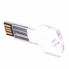 お買い得  USBメモリー-64GB USBフラッシュドライブ USBディスク USB 2.0 プラスチック&メタル 不規則型 ワイヤレスストレージ