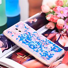 Недорогие Чехлы и кейсы для Huawei Mate-Кейс для Назначение Huawei Mate 10 Защита от удара / Сияние и блеск Кейс на заднюю панель Сияние и блеск / Цветы Мягкий ТПУ для Mate 10