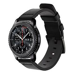 ieftine -Uita-Band pentru Gear S3 Frontier / Gear S3 Classic Samsung Galaxy Banderola Sport / Catarama Clasica Piele Curea de Încheietură