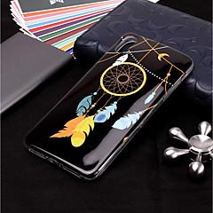 Недорогие Кейсы для iPhone 7 Plus-Кейс для Назначение Apple iPhone XR / iPhone XS Max Сияние в темноте / С узором Кейс на заднюю панель Ловец снов / Перья Мягкий ТПУ для iPhone XS / iPhone XR / iPhone XS Max