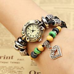 お買い得  レディース腕時計-女性用 ブレスレットウォッチ クォーツ ブラック カジュアルウォッチ ハンズ ヴィンテージ - ブラック