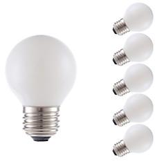 お買い得  LED 電球-GMY® 6本 3.5 W 300 lm E26 / E27 フィラメントタイプLED電球 G16.5 4 LEDビーズ COB 装飾用 温白色 120 V