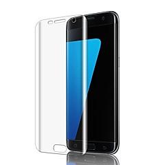 זול מוצרים חדשים-מגן מסך ל Samsung Galaxy S7 edge TPU יחידה 1 מגן מסך קדמי (HD) ניגודיות גבוהה / אולטרה דק / 3 קצה מעוגלD