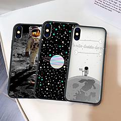Недорогие Кейсы для iPhone 7 Plus-Кейс для Назначение Apple iPhone XR / iPhone XS Max С узором Кейс на заднюю панель Мультипликация Твердый Акрил для iPhone XS / iPhone XR / iPhone XS Max