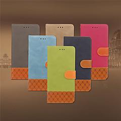Недорогие Кейсы для iPhone 7 Plus-Кейс для Назначение Apple iPhone 8 Plus / iPhone 7 Plus Бумажник для карт / Флип Чехол Однотонный Мягкий Кожа PU для iPhone 8 Pluss / iPhone 7 Plus