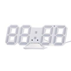お買い得  クロック-目覚まし時計 LED / デジタル プラスチック 自動巻き腕時計 / LEDライト付き 24*9.4*1.7 pcs