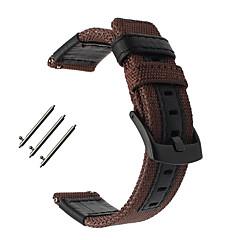 ieftine -Uita-Band pentru Huami Amazfit Bip Younth Watch Samsung Galaxy Banderola Sport Piele / Nailon Curea de Încheietură