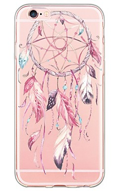 cheap -Dream Catcher Pattern TPU Ultra-thin Translucent Soft Back Cover for Apple iPhone 6s Plus/6 Plus/ 6s/6/ SE/5s/5