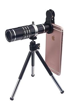 Недорогие -Объектив для мобильного телефона Широкоугольный объектив / Макролинза / Телеобъектив Стекло Макрос 18X iPhone / Samsung / Huawei