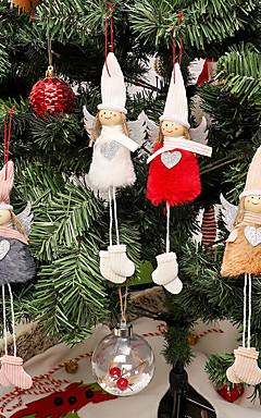 رخيصةأون -تماثيل الكريسمس / عيد الميلاد / عيد الميلاد الحلي عطلة / العائلة منسوجات كارتون / حزب / حداثة زينة عيد الميلاد