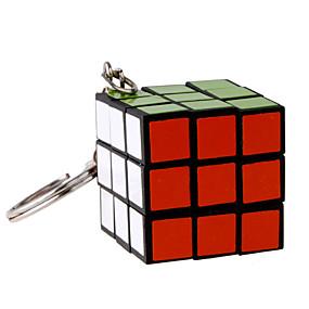 olcso Oktatási játékok-3*3*3 Rubik-kocka Kulcstartó Mini Ajándék Bájos Műanyag 1/5/10 pcs Darabok Felnőttek Gyermek Fiú Lány Játékok Ajándék
