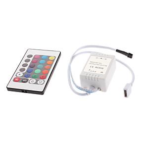Недорогие RGB контроллеры-12 V Осветительная арматура пластик Контроллер RGB