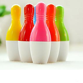 baratos Até R$ 3,39-Caneta Caneta Canetas esferográficas Caneta, Plástico Azul cores de tinta For material escolar Material de escritório Pacote de