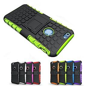 olcso iPhone tokok-táska alma iphone xr xs xs max ütésálló / állvány hátsó fedél páncél kemény szilikon iphone x 8 8 plusz 7 7plus 6s 6s plus se 5 5s