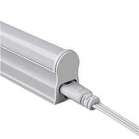 Недорогие LED лампы дневного света-4 W Люминесцентная лампа 300 lm Трубка 30 Светодиодные бусины SMD 3014 Холодный белый 100-240 V