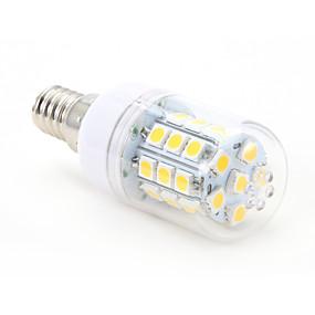 זול נורות תירס לד-4 W נורות תירס לד 300-350 lm E14 T 30 LED חרוזים SMD 5050 לבן חם 220-240 V