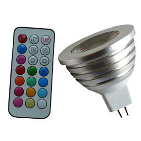 ieftine Spoturi LED-4w 350-450 lm mr16 rgb lampă led controler de la distanță lumina reflectoarelor ac dc 12v