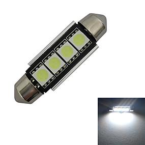 Недорогие Прочие светодиодные лампы-1шт 1.5 W 80-90 lm 4 Светодиодные бусины SMD 5050 Холодный белый 12 V