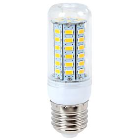 billige LED-kolbepærer-ywxlight® 1200 lm e14 g9 e26 / e27 ledede corn lights 56led 5730smd varm hvid cool hvid led lyspære ac 110-130v ac 220-240v