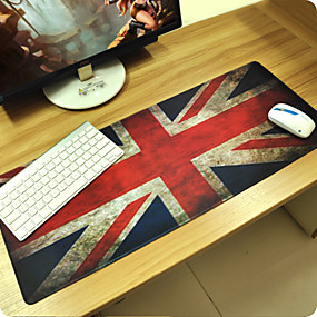 cheap Mouse Pad-British flag Customized Rectangle Non-Slip Rubber Super Large Size Gaming Mouse Pad Mat  (67*30*0.3cm)