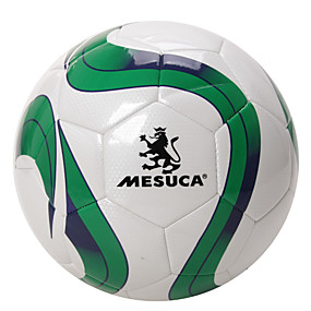 cheap Team Sports-Mesuca ® Training Competition Hand Sewn PU Soccer Durable Football Gas Leak-proof MAB50113