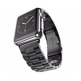 abordables Bracelets Apple Watch-Bracelet de Montre  pour Apple Watch Series 4/3/2/1 Apple papillon Boucle Acier Inoxydable Sangle de Poignet