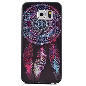 halpa Galaxy S -sarjan kotelot / kuoret-Etui Käyttötarkoitus Samsung Galaxy Samsung Galaxy S7 Edge Kuvio Takakuori Uni sieppari TPU varten S7 Active / S7 plus / S7 edge