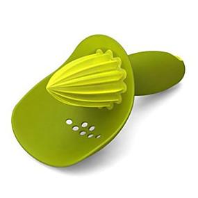 billiga Köksredskap och -apparater-Plast manuell Juicer Köksredskap Verktyg för frukt 1st