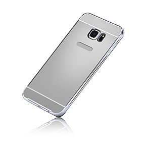 voordelige Galaxy S6 Edge Plus Hoesjes / covers-hoesje Voor Samsung Galaxy S7 edge / S7 / S6 edge plus Beplating Achterkant Effen PC
