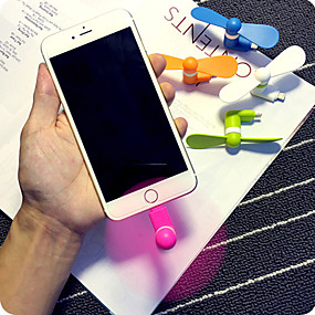 저렴한 홈 & 주방-아이폰 슈퍼 실제 슈퍼 파워 미니 휴대 전화 미니 팬 5 / 5 초 / 6 / 6S / 6 플러스 / 6S 플러스