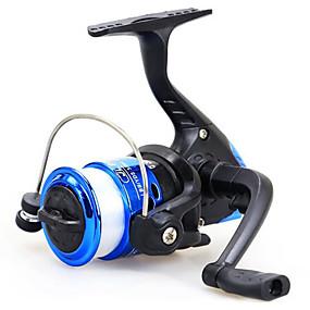 billige Fisketilbehør-Fiskesneller Agnkast Hjul 5.1:1 Gear Forhold+12 Kulelager Hånd Orientering Byttbar Søfisking / Agn Kasting / Ferskvannsfiskere - Baitcast Reels