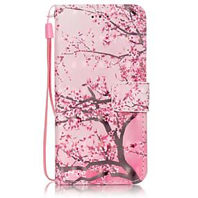halpa iPhone kotelot-Etui Käyttötarkoitus Apple iPhone 6 Plus / iPhone 6 Lomapkko / Korttikotelo / Tuella Suojakuori Puu Kova PU-nahka varten iPhone 6s Plus / iPhone 6s / iPhone 6 Plus