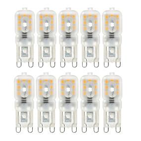 رخيصةأون مصابيح ليد ثنائية-ywxlight® 10 قطع تخفيت g9 4w 300-400 lm led pin-pin أضواء 2835smd دافئ أبيض بارد الأبيض الطبيعي الأبيض ضوء لمبة ac 220 فولت ac 110 فولت